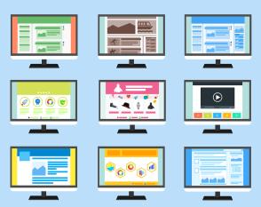 Site Web, Page, Modèle, Internet, Web, Ordinateur