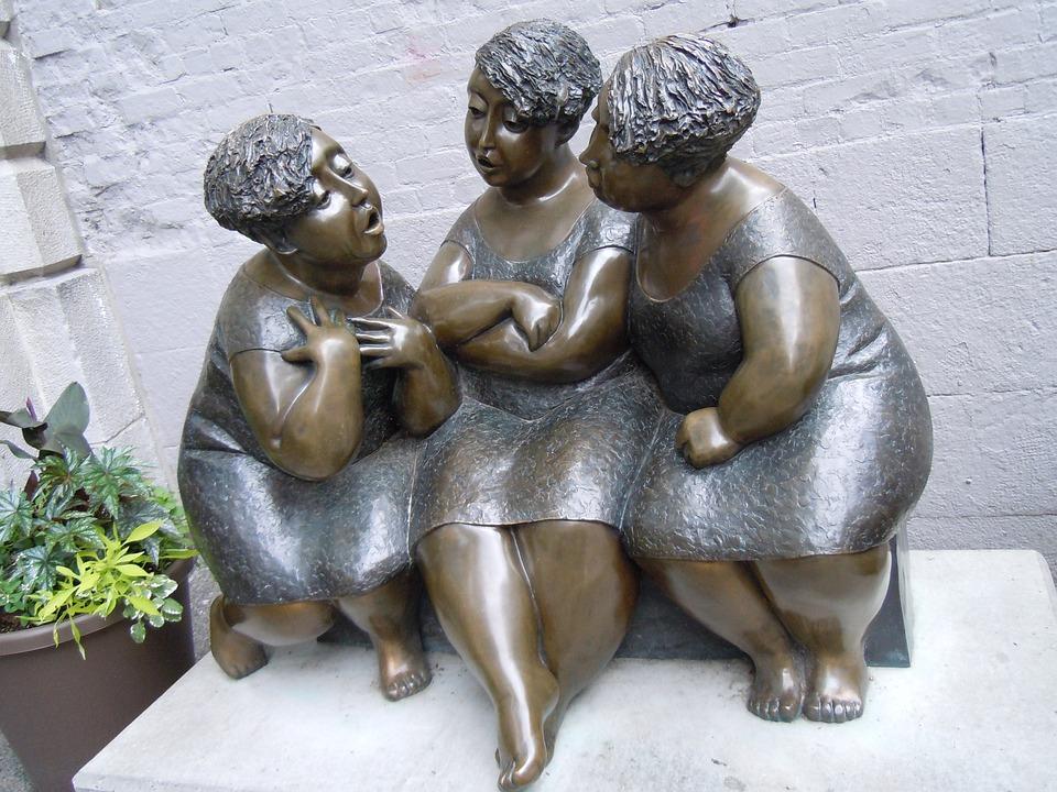 Women, Stone, Monument, Woman, Sculpture, Architecture