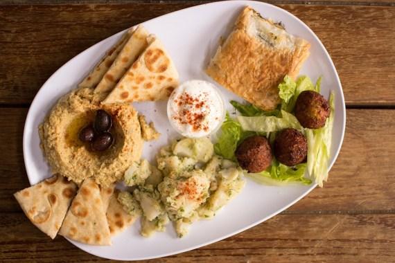 Hummus, Falafel, Auténtico Griego, Comida Griega, Mezes