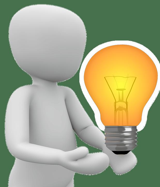 idee ampoule allume image gratuite