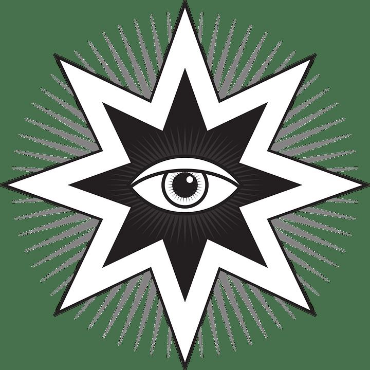 All Seeing Eye Pyramid Drawing