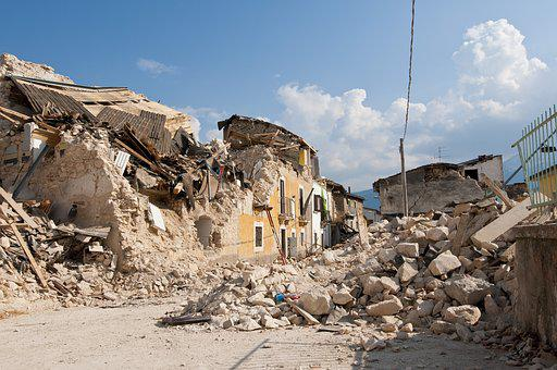 Earthquake, Rubble, Collapse, Disaster