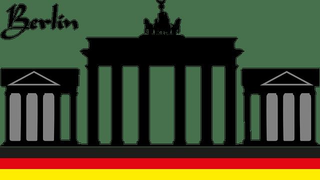 Free Vector Graphic Brandenburg Gate Berlin Capital