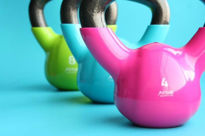 Kettlebells, Gym, Exercise, Slimming, Dumbbell