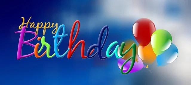 Birthday Sky Balloon 183 Free Image On Pixabay