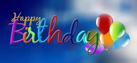 Birthday, Sky, Balloon, Clouds, Greeting