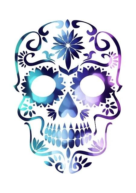 Free Illustration Skull Sugar Skull Mexican Mexico