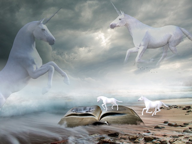 Unicorns Sea Landscape Free Image On Pixabay