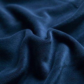 Marineblau Samt Stoff Textilien Samt Samt