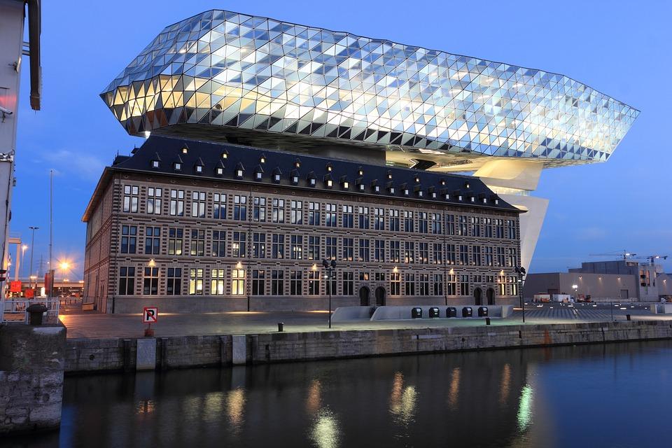 Kostenloses Foto Belgien Antwerpen Bro Gebude
