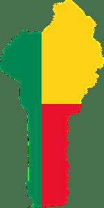 Benin, Africa, Borders, Country, Flag