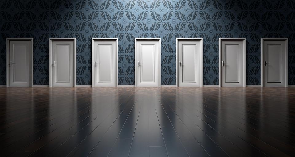 ドア, 選択肢, 選択, 意思決定, 機会, 選ぶ, オプション, 入り口, 決定, 戸口, 代替, 未来