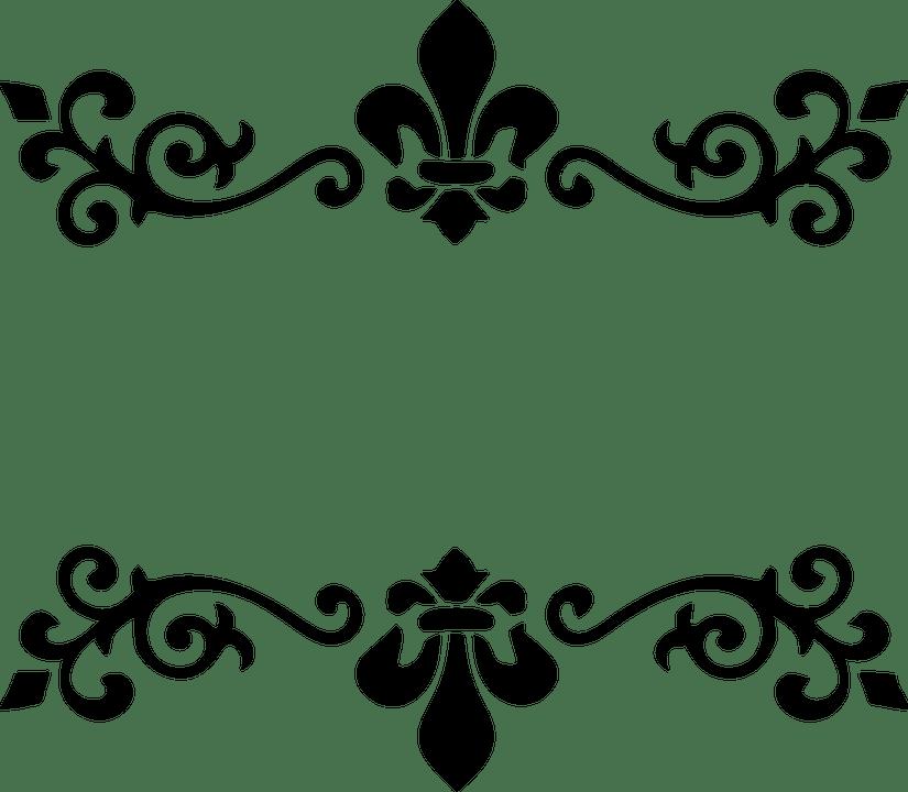 border stencil patterns