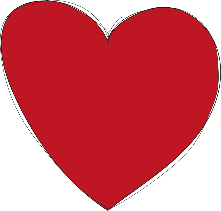 Download Heart Red Love · Free vector graphic on Pixabay