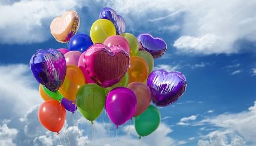 Palloncini, Celebrazione, Colori, In Gomma, Volare
