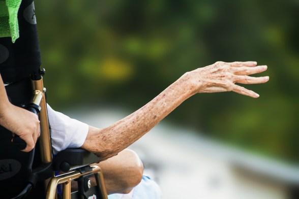 Hospicio, Mano Arrugada, Ancianos, Antigua, Senior