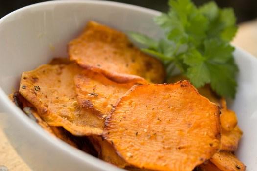 Patata Dolce, Chip, Di Patate, Chips Di Patate Dolci