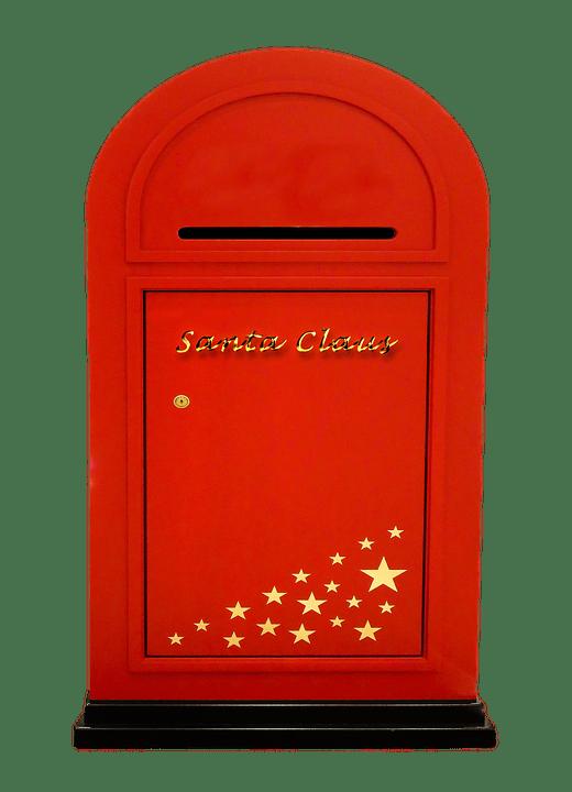 Noël, Père Noël, Christmas, Boîte Aux Lettres, Post
