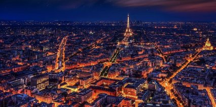 Paris, France, Eiffel Tower, Night, New Europe Flights, GoGo Travel LLC, Travel Agent, Travel Consultant