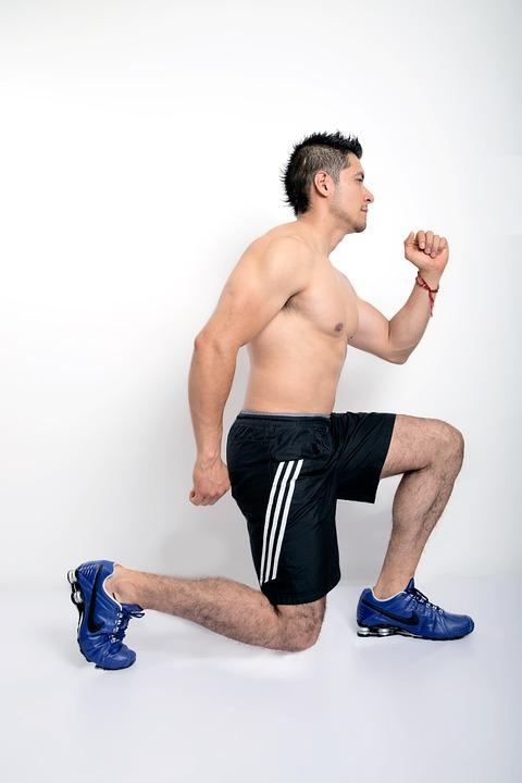 Lunges Exercise using alternate legs