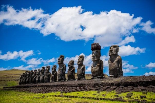 Moai, Easter Island, Rapa Nui, Ancestral, Ancestors