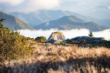 Aventura, Campamento, Camping, Niebla