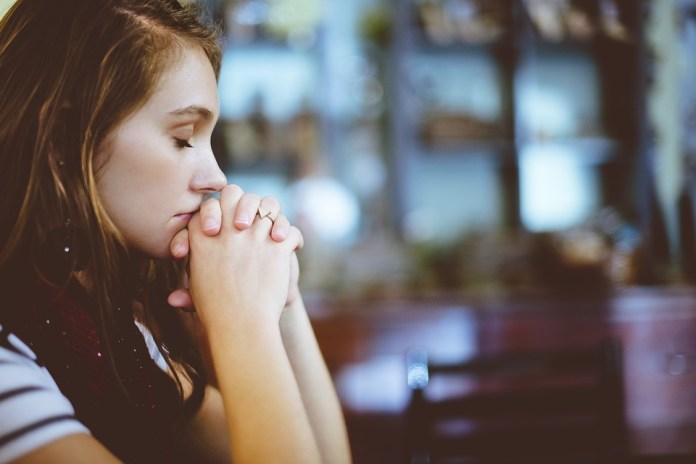 Blur, Close-Up, Girl, Woman, Hands, Model, Praying