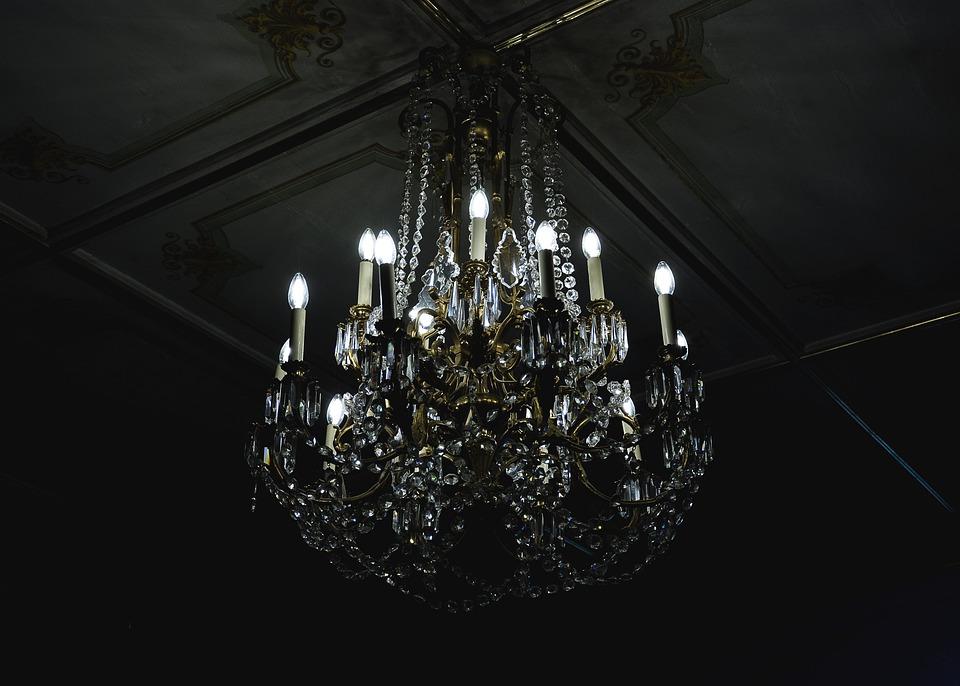 Chandelier Dark Decoration Free Photo On Pixabay