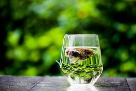 Tea Cup, Green, Tea Bag, Teabag, Outdoor