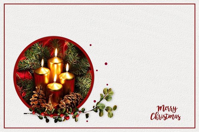 Free Illustration Christmas Card Christmas Map Free