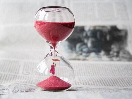 Hourglass, Clock, Sand, Time, Knapp