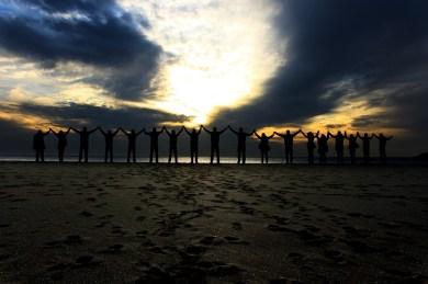 Estar Juntos Solidaridad Playa - Foto gratis en Pixabay