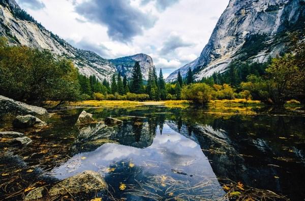 Mirror Lake, Yosemite, Parc National, Californie, L'Eau