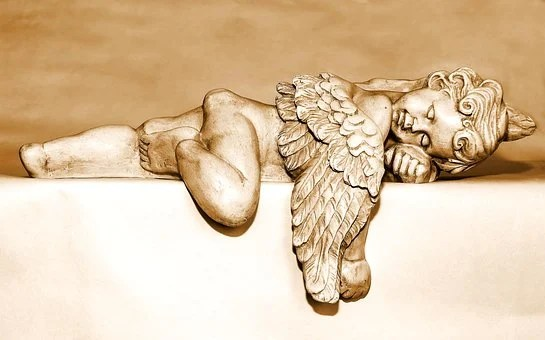 Angel, Guardian Angel, Angel Figure, Sleeping, Universe, Power, Destiny, Hope for the future
