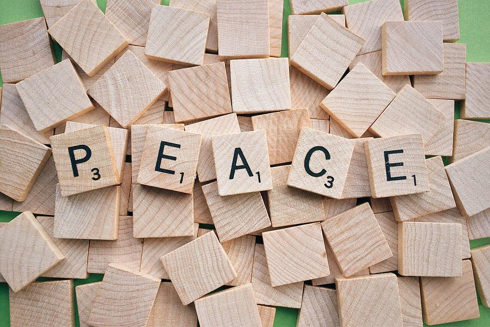 Peace, Word, Scrabble, Letters