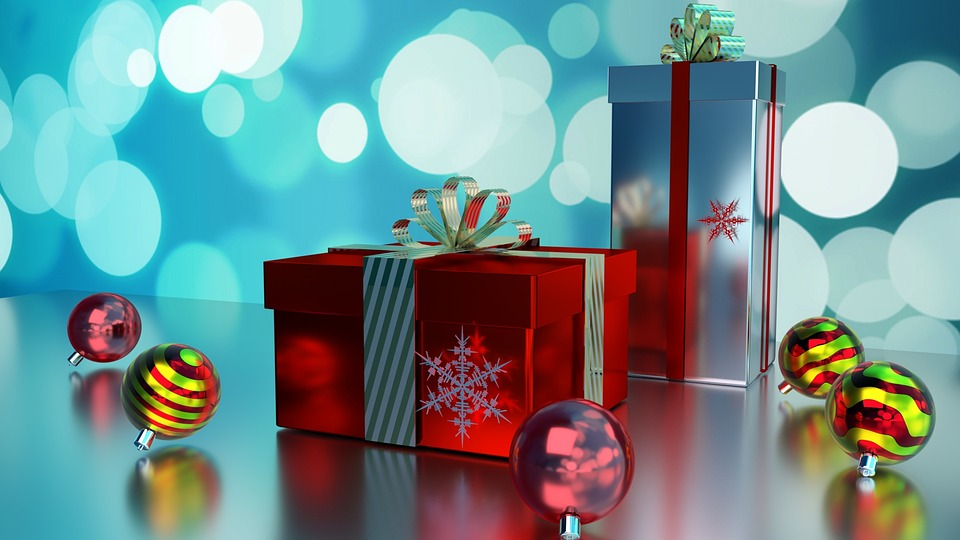 Christmas Boxes Gifts Holiday Free Image On Pixabay