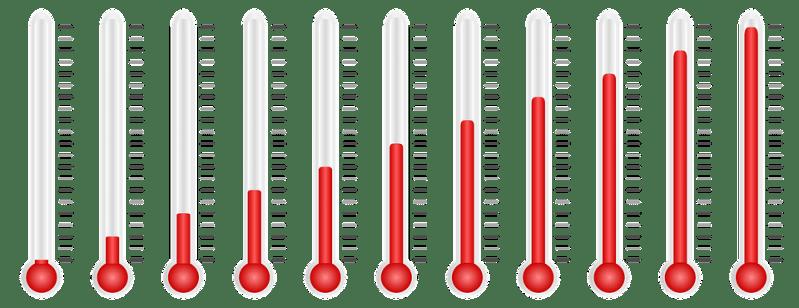 Termómetro, La Temperatura, Medida, Métrica, Grados