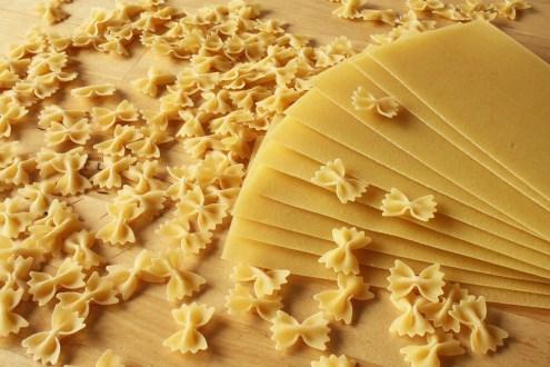 Nouilles, Petits, Grande, Lasagne, Brut, Dur