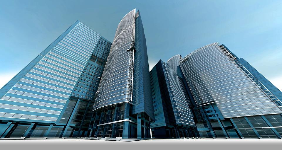 スカイライン, 高層ビル, 超高層ビル, 建物, アーキテクチャ, 市, 高, 都市計画, 塔, 3 D