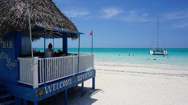 Cuba, Cayo Coco, Pilar Playa, Playa, Bar