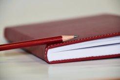 ノート, 日記, 書きます, 書き留める, 本, メモ, 小冊子, 注意