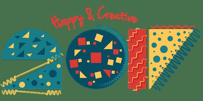 2017 年の幸せ, ハッピー 2017, 2017, パーティー, カード