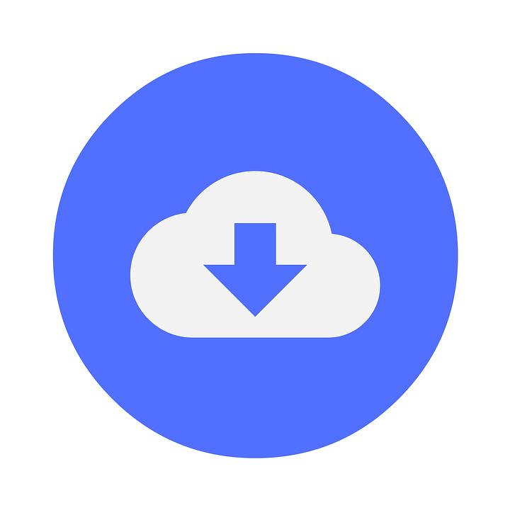 Free Illustration Download Cloud Data Online Free