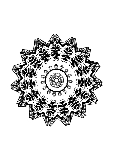Mandala Design Drawing Coloring Free Image On Pixabay