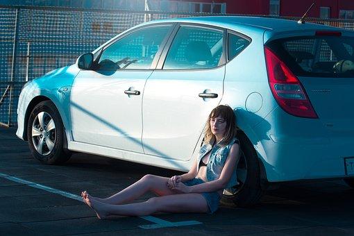 Κορίτσι, Αλκοόλ, Αυτοκίνητα, Μηχανή