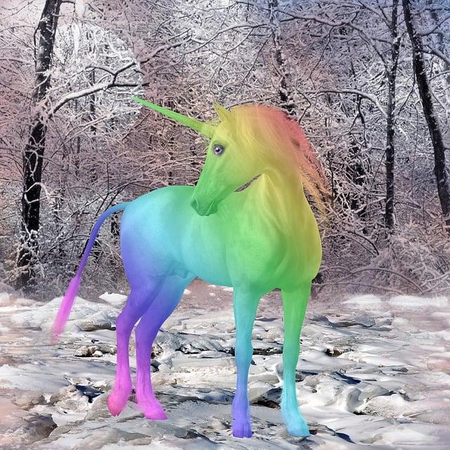 Free Illustration Unicorn Mythical Creatures Free
