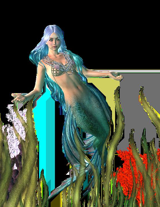 Mermaid Myth Girl Free Image On Pixabay