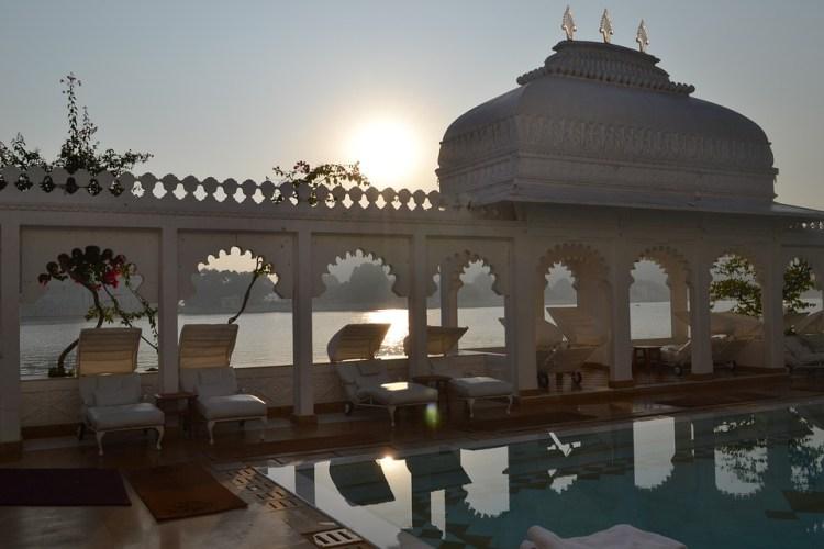 Inde, Udaipur, Rajasthan, Palais, Lac, Voyage