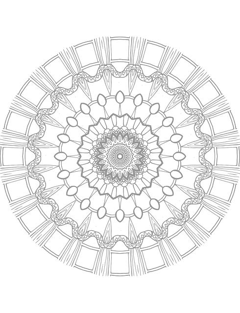 Free Vector Graphic Mandala Coloring Page Free Image