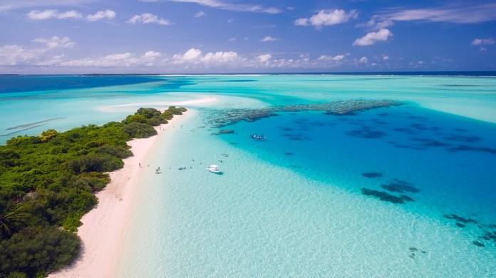 Maldives, Tropics, Tropical, Aerial View, Vacation